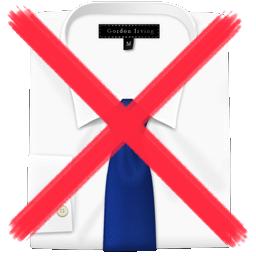 garantiert keine Hemden
