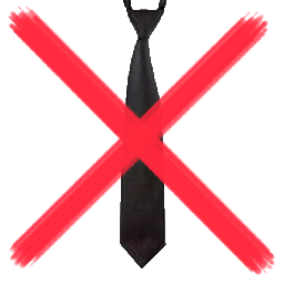 garantiert keine Krawatten