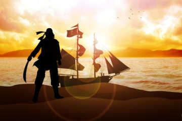 Männer-Geschenke Piraten und Seeräuber