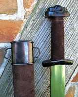 Wikinger Schaukampfschwert (Wildleder Antik)