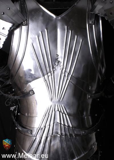 Bild Nr. 2 Voll Ritterrüstung Gothische Plattenrüstung