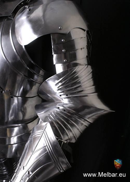 Bild Nr. 4 Voll Ritterrüstung Gothische Plattenrüstung