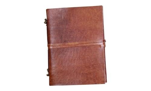 Notizbuch Lederbuch 18 x 13 cm