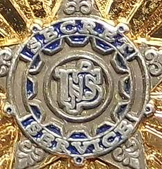 Bild Nr. 3 Secret Service Badge auf Leder-Patch