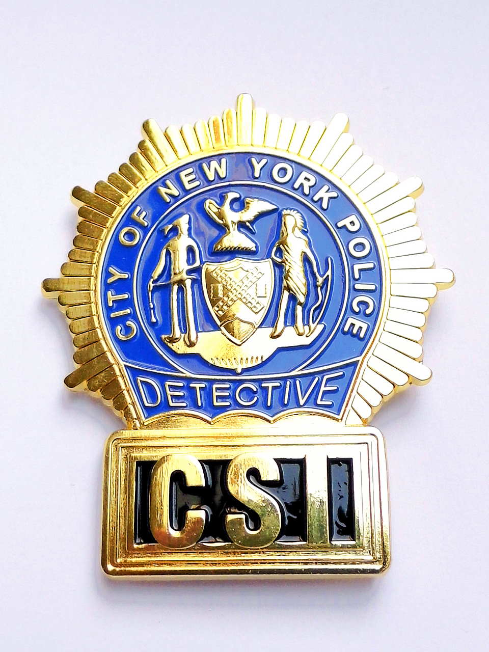 Bild Nr. 2 CSI New York Police DETECTIVE BADGE