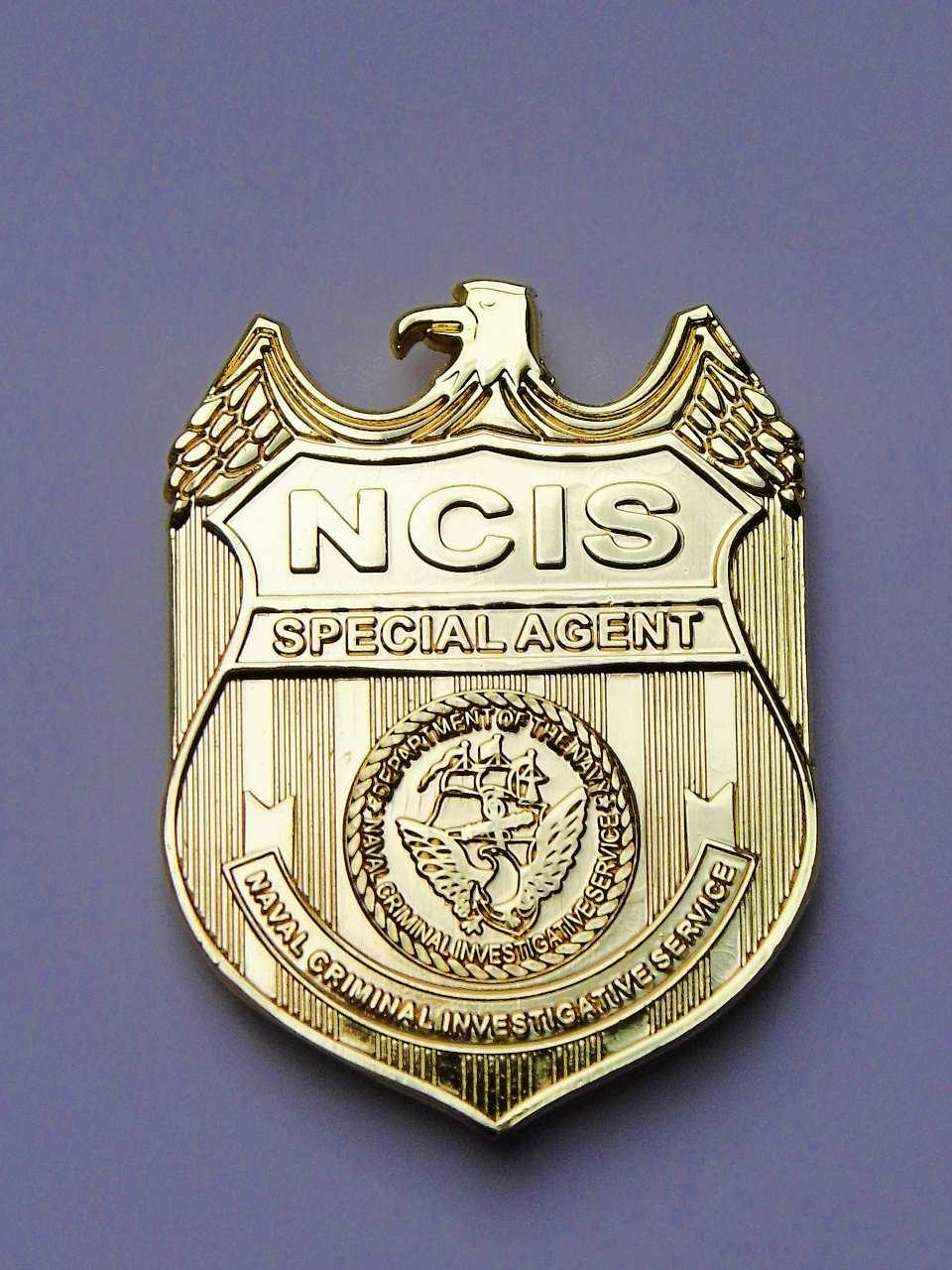 NAVY CIS Badge