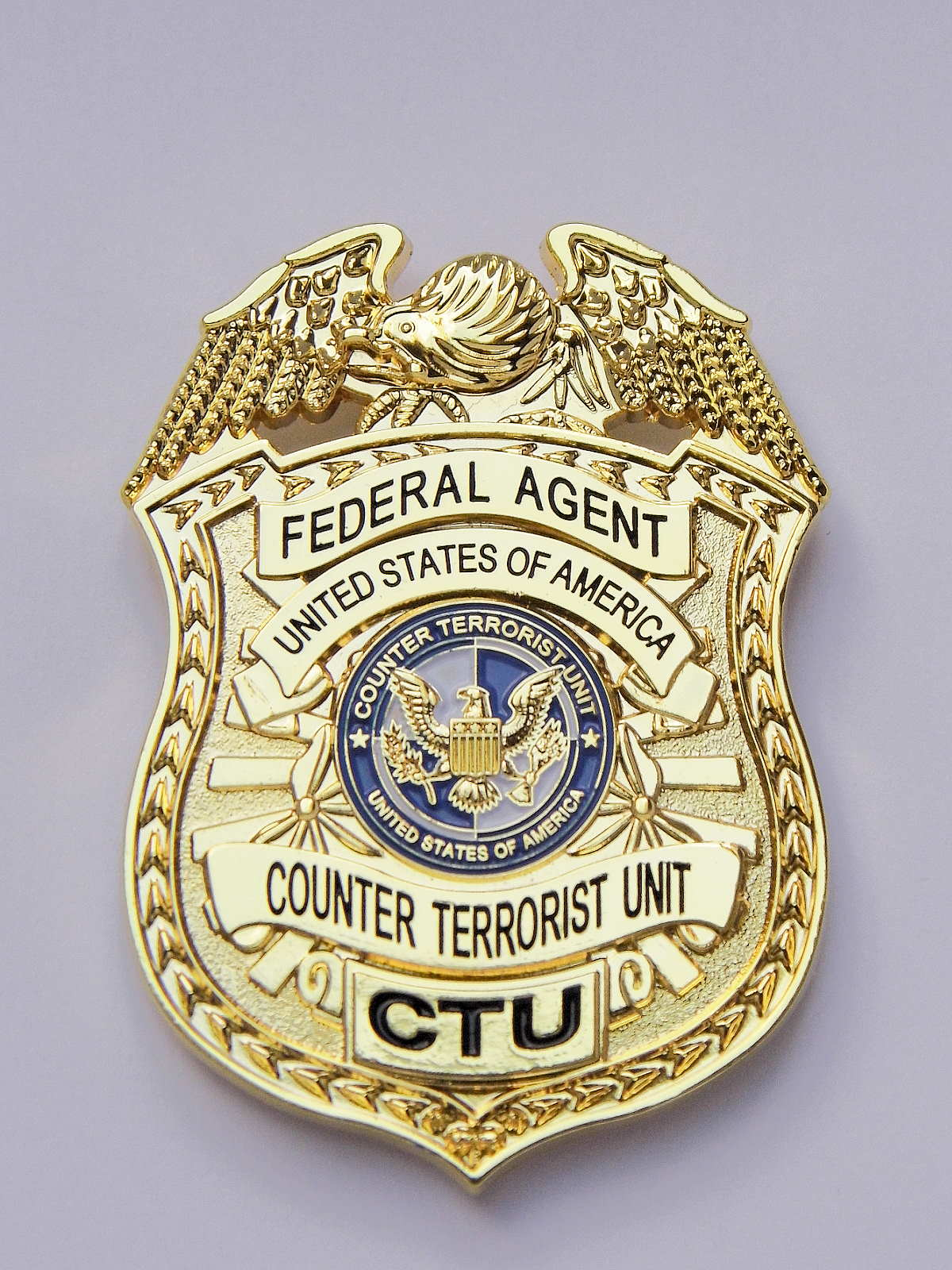 CTU Badge  US Counter Terrorist Unit