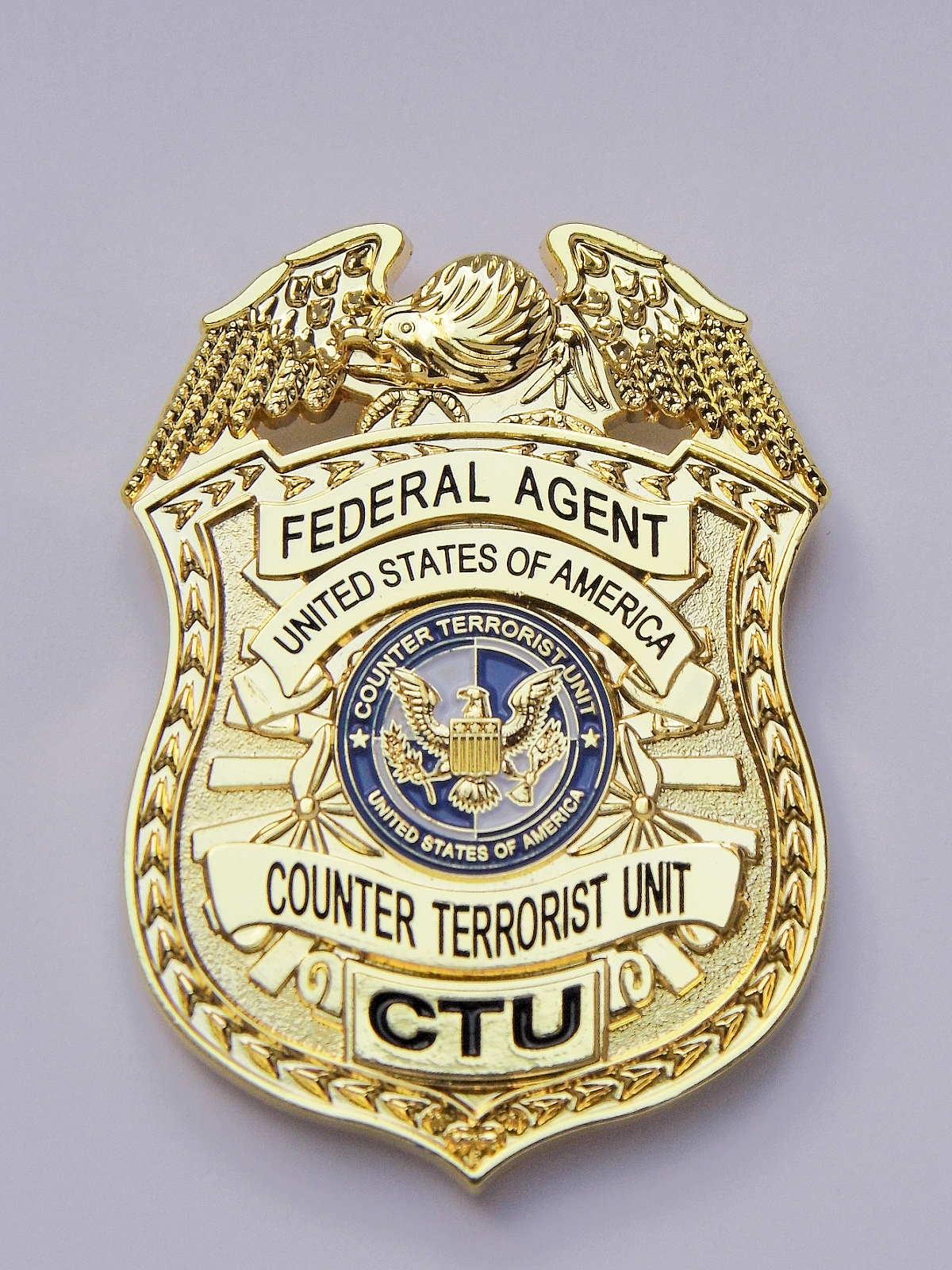 CTU Badge  US Counter Terrorist Unit