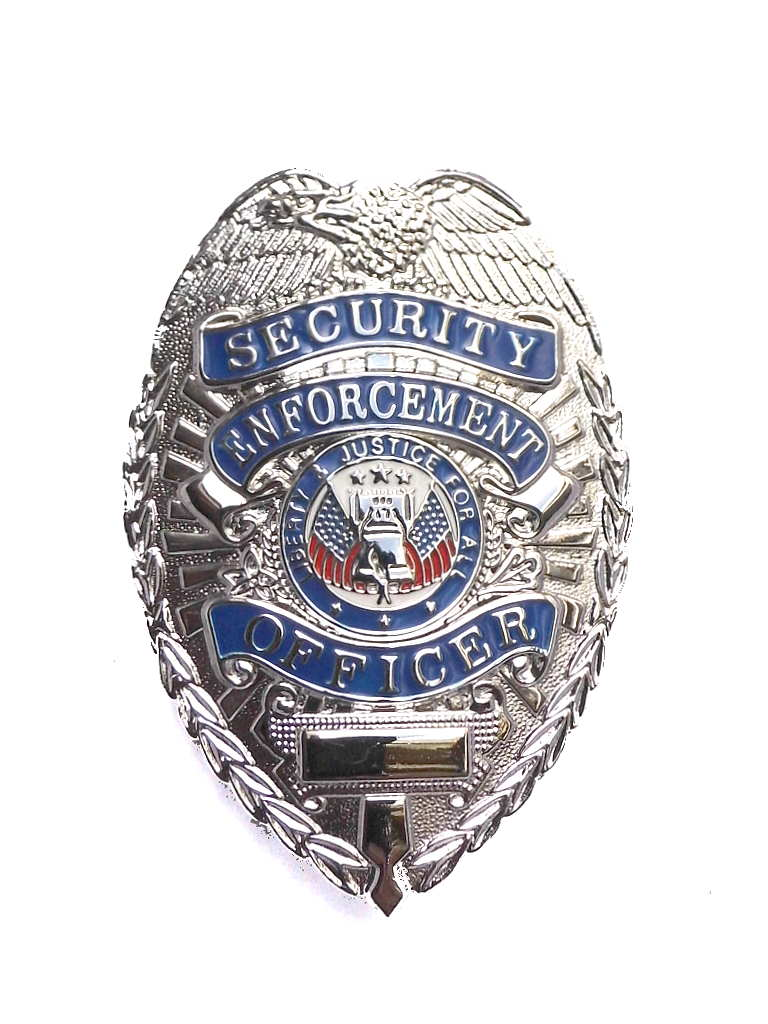 Dienstmarke Security Enforcement Officer Metall  Badge