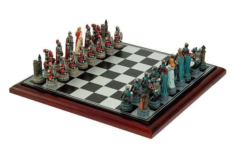 Schachspiel Ritter