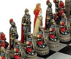 Bild Nr. 2 Schachspiel Ritter