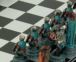 Bild Nr. 3 Schachspiel Ritter