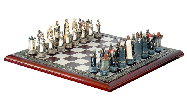 Schachspiel Ritterorden