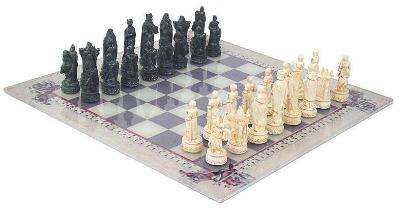 Schachspiel Mittelalter