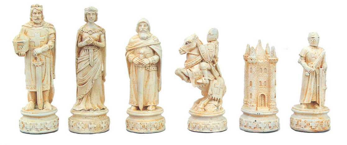 Schachspiel Mittelalter Abb. Nr 3