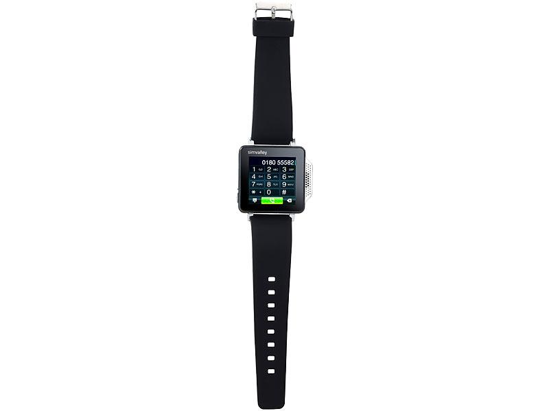Bild Nr. 2 Handy-Uhr PW-315.touch mit Uhr und Mediaplayer