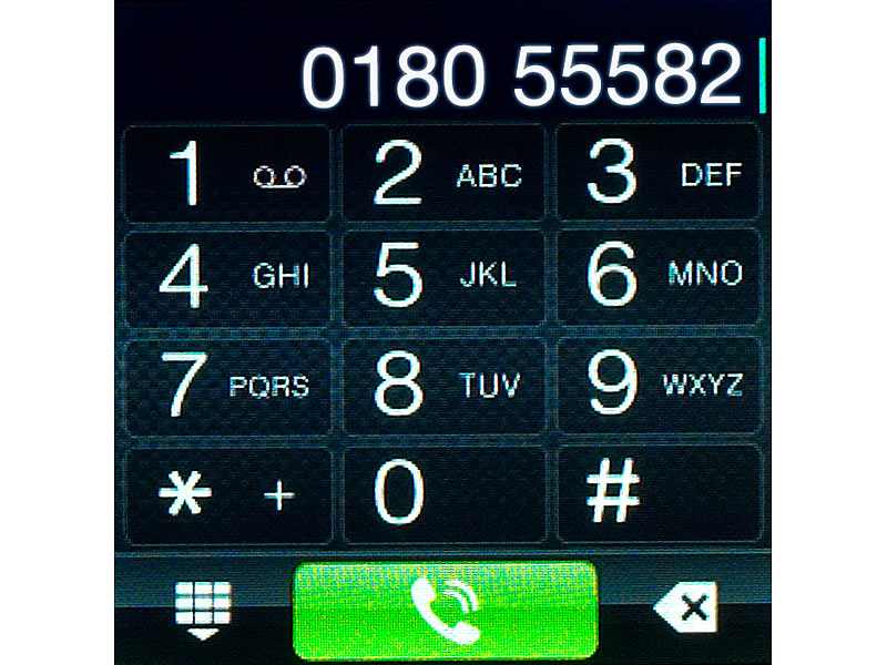 Bild Nr. 5 Handy-Uhr PW-315.touch mit Uhr und Mediaplayer