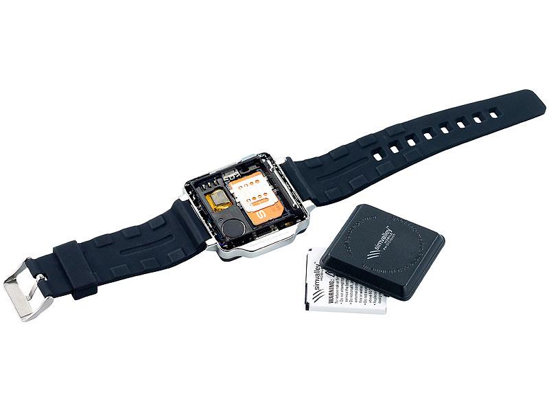 Bild Nr. 7 Handy-Uhr PW-315.touch mit Uhr und Mediaplayer