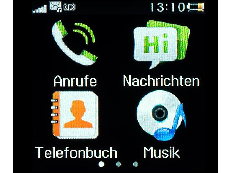 Bild Nr. 10 Handy-Uhr PW-315.touch mit Uhr und Mediaplayer