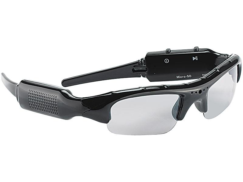 Kamera-Sonnebrille HD Abb. Nr 1