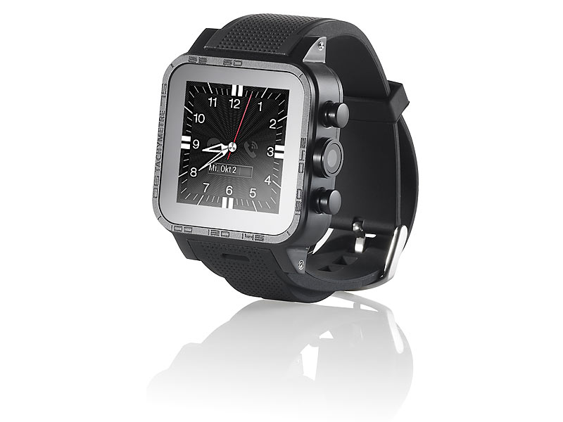 Bild Nr. 4 Handy Uhr MOBILE 1.5 -Smartwatch AW-420.RX mit Android4-BT-WiFi-1 GB