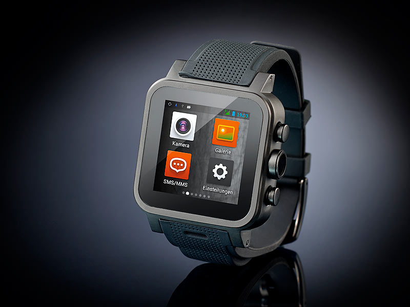 Bild Nr. 7 Handy Uhr MOBILE 1.5 -Smartwatch AW-420.RX mit Android4-BT-WiFi-1 GB