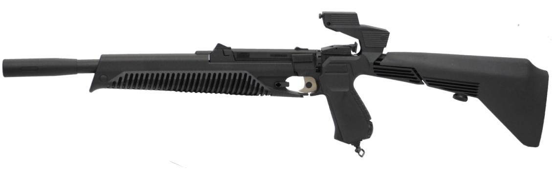 CO2 Luftgewehr-Kombi 4,5mm MP-651K