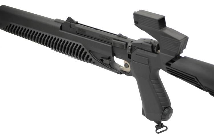 Bild Nr. 3 CO2 Luftgewehr-Kombi 4,5mm MP-651K