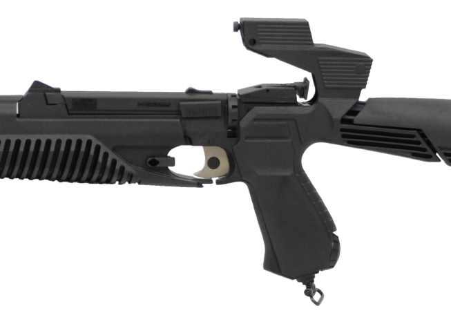 Bild Nr. 6 CO2 Luftgewehr-Kombi 4,5mm MP-651K