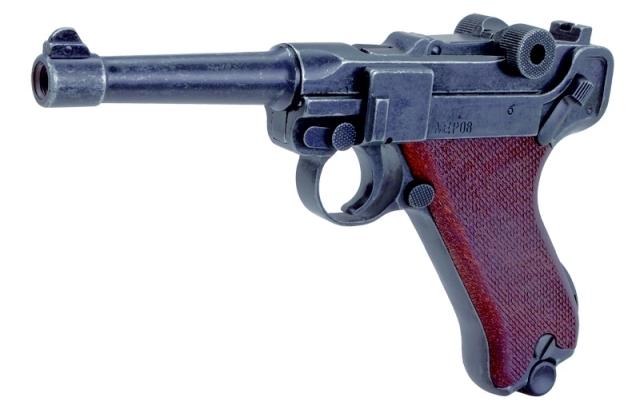Bild Nr. 2 Schreckschuss-Pistole P 08 Kal. 9mm P.A.