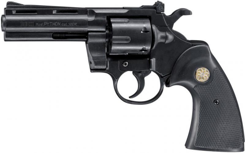 Revolver Colt Python  cal. 9 mm P.A.K. Abb. Nr 1