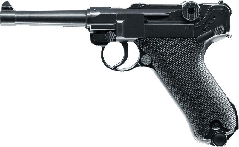 Pistole  08 cal. 4,5 mm (.177)