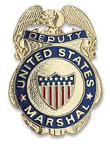 Badge US Marshal Service