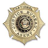 Badge Justice Bureau Agent