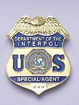 Interpol Badge USA