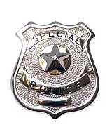 Dienstmarke Special Police Metall  Badge