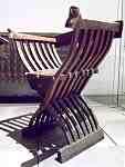 Scherenstuhl Galileo Replik 15Jh