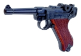 Schreckschuss-Pistole P 08 mit Kniegelenkverschluss Kal. 9mm P.A.K.